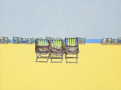 Devon beach deck chairs